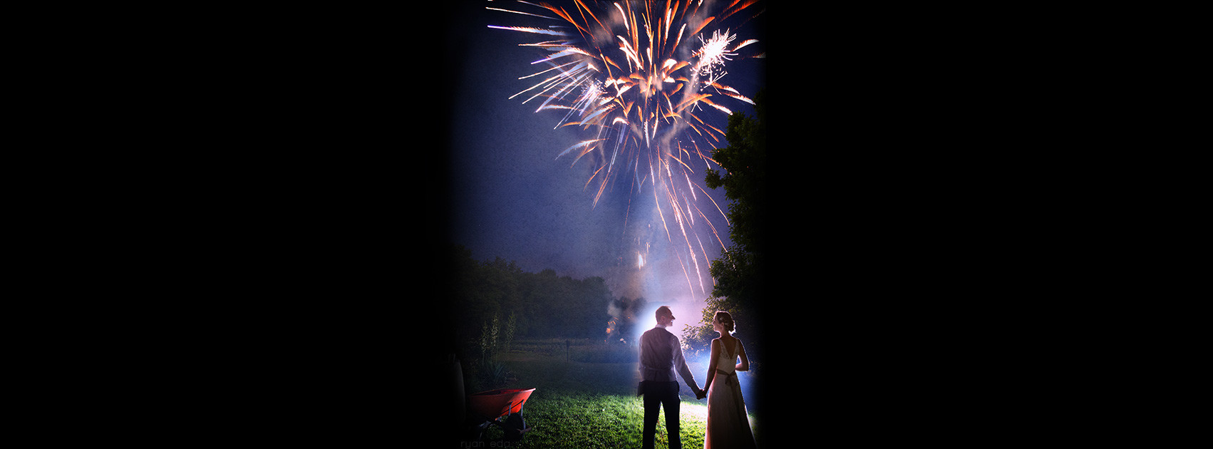 Fireworks Philadelphia-wedding-photographer