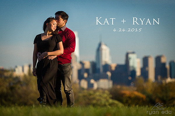 Fairmount Park Engagement - Kat + Ryan