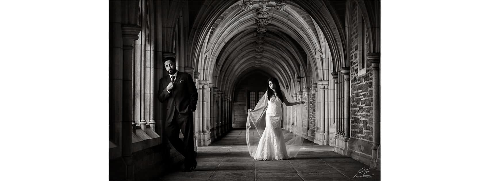 Princeton Campus Wedding