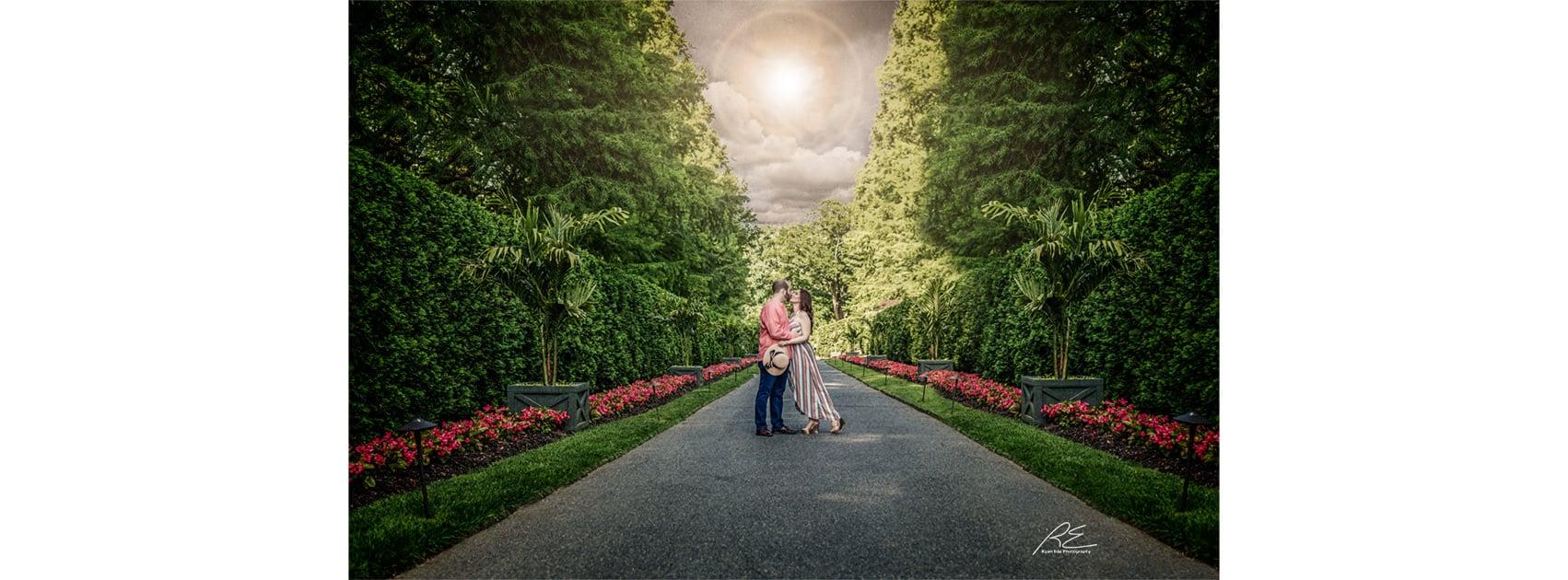 Engagement at Longwood Gardens