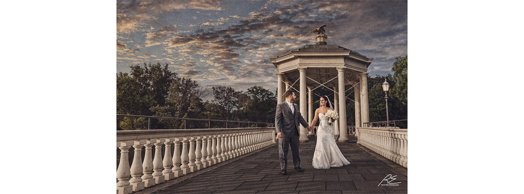 Cescaphe Waterworks Drive Wedding